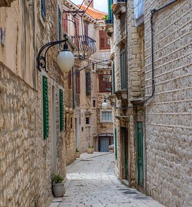 Sibenik streets...centuries old and still going strong