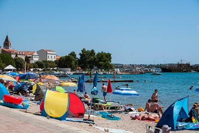 Small beach town between Zadar and Šibenik