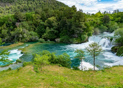 Krka National Park...another gorgeous park with waterfalls and lakes