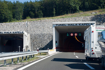 Mala Kapela TunnelTunel Mala Kapela is 5,821 metres long. Tunel Mala Kapela is the longest tunnel in Croatia. The tunnel is geographically located between villages of Jezerane and Modruš. The first tunnel tube through the Mala Kapela mountain was completed in 2005, the second was completed in 2009.