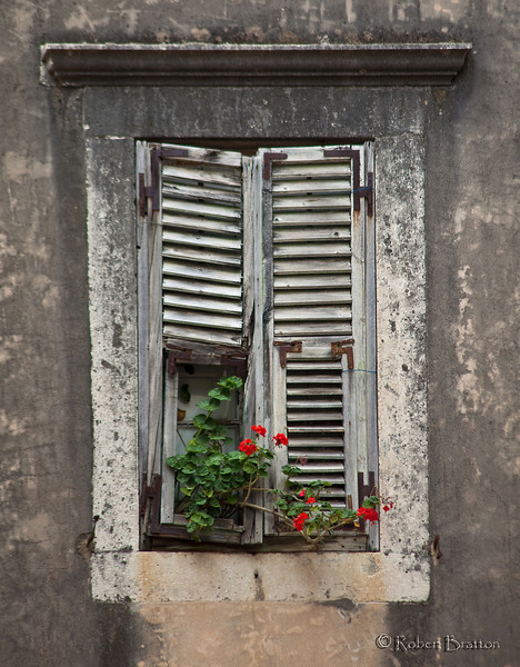 Window Shutters in Dubrovnik