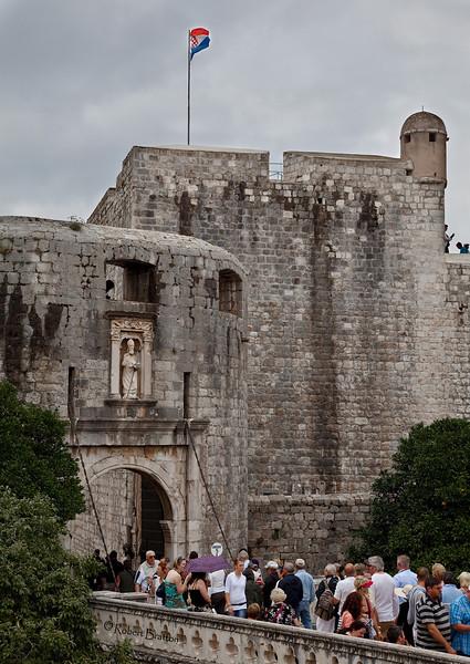Entrance to Dubrovnik