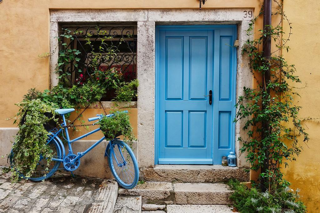 Rovinj Blue Door