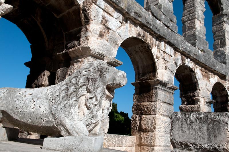Pula - Amphitheatre