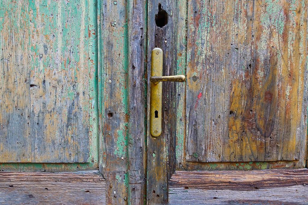 Rovinj Old Door
