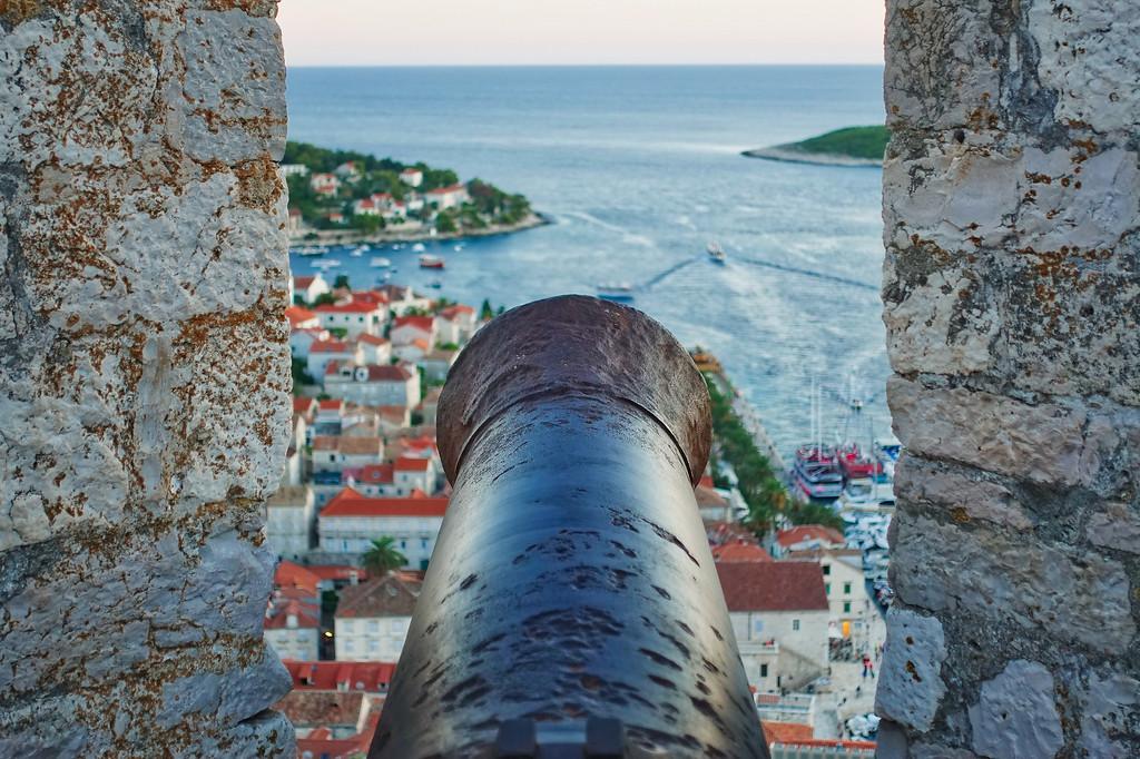 Hvar Fortress Canon