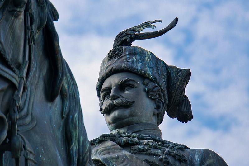 Ben Jelacic Statue