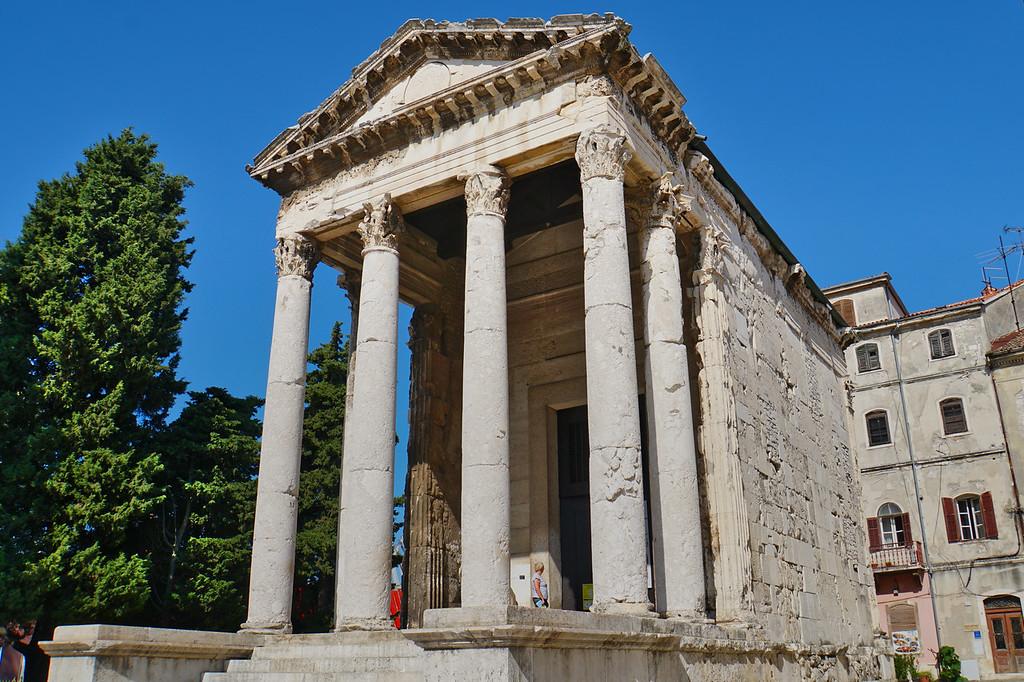 Pula Temple of  Augustus