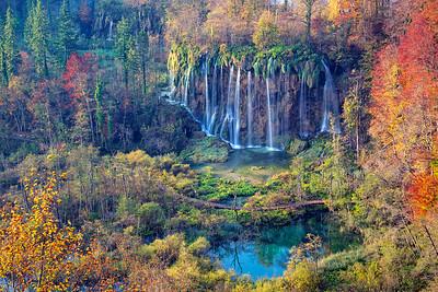 Plitvice Lakes.