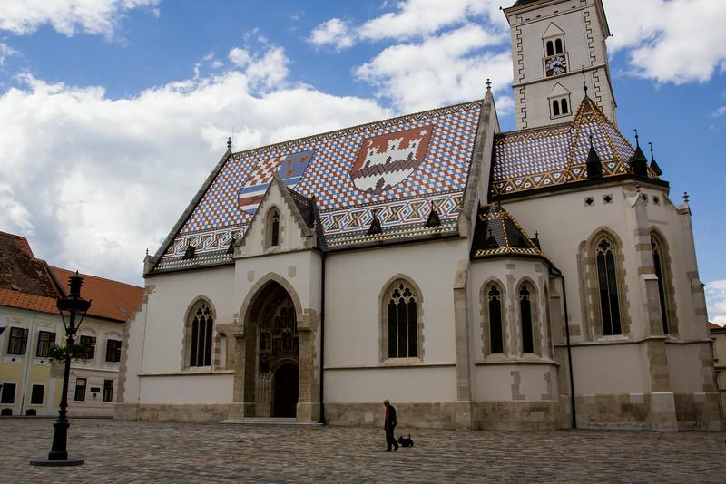 The Church of St. Mark - Zagreb Croatia