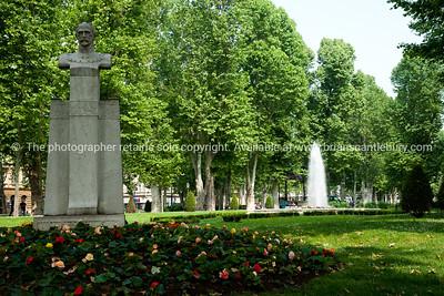 "Croatia, ""Heaven on Earth"" Public gardens in Zagreb. SEE ALSO: www.blurb.com/b/2340783-croatia"