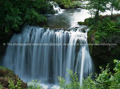 """Croatia, """"Heaven on Earth"""", waterfall at Slunj, Rastoke. SEE ALSO: www.blurb.com/b/2340783-croatia"""