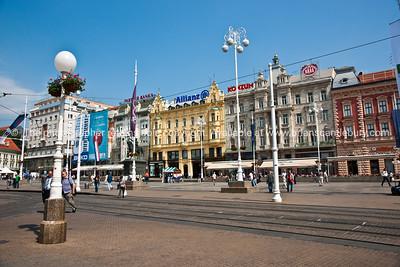 "Croatia, ""Heaven on Earth"", The Square of Ban Josip Jelačić, Zagreb. SEE ALSO: www.blurb.com/b/2340783-croatia"