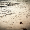 Cromer Beach Sand Art