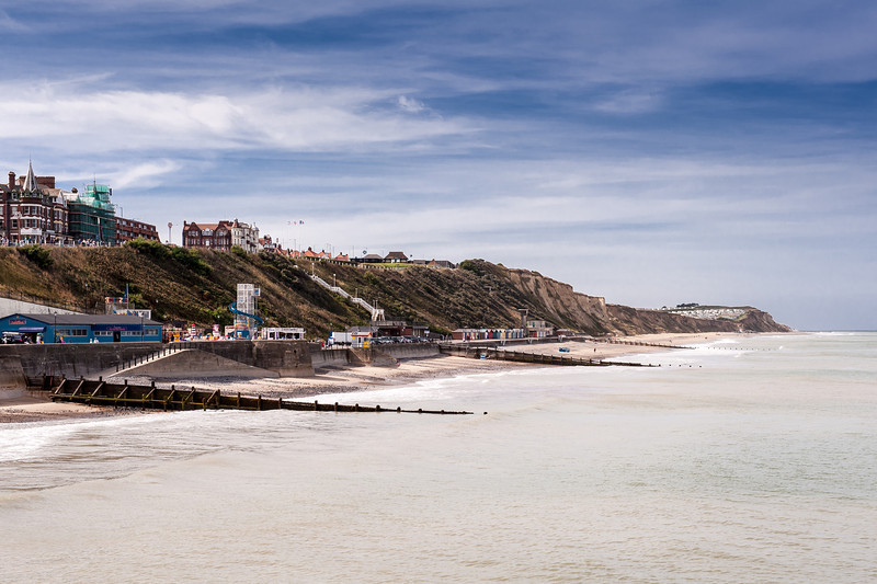 Views of Cromer from the prier looking to the West