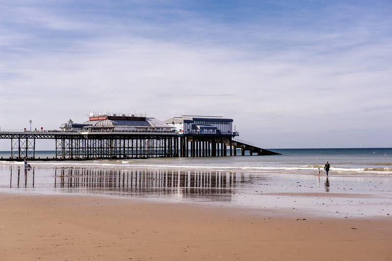 The late Victorian-style Cromer prier