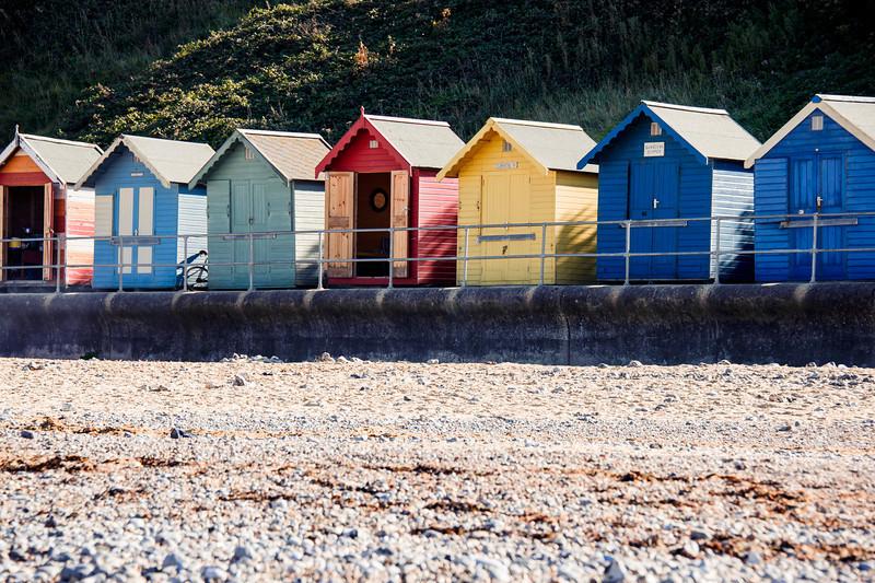 Colorful Cromer Beach Huts