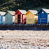 Colorful Cromer Beach Huts