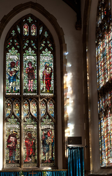 Stained Glass Windows in the Cromer Parish Church