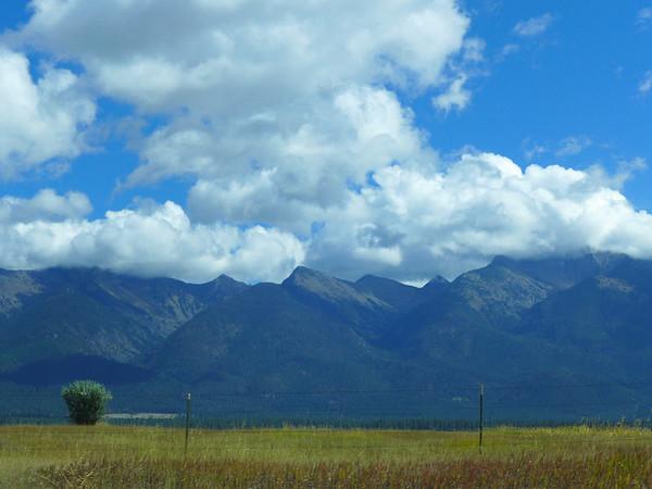 Mission Mountains, Mountain