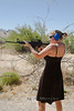 Dropping Targets with the AR-15 - Cindy in Death Valley