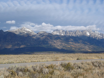 Crossing the USA - Grand Tetons & Yellowstone