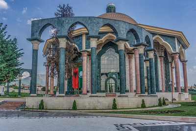 Bektashi World Center in Tirana.  Bektashi is a Sufi order (a dervish sect) that fuses elements of predominantly Shia and Sufi thought into a unique blend of Islamic belief and philosophy.