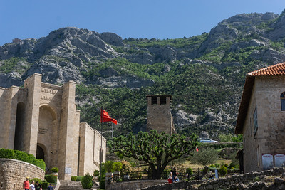 The museums in Kruja and the rugged terrain of this area