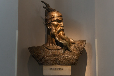 In the Skanderbeg Museum