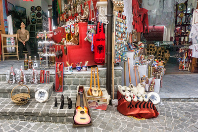 An example of the variety of items for sale in Kruja