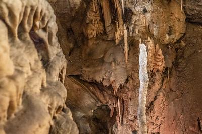 Within Postojna Cave in Slovenia