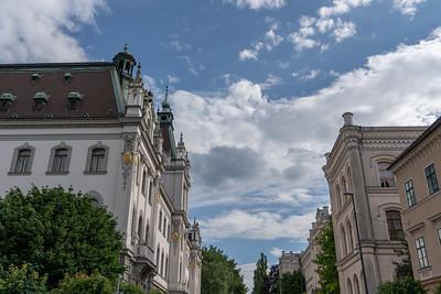 Downtown Ljubljana, Slovenia