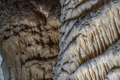 Within Postojna Cave in Slovenia