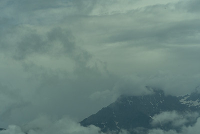 The Austrian Alps as seen on our drive to Lake Bled