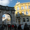 The Arch of the Sergi / Triumphal Arch of Sergius or The Golden Gate, Pula