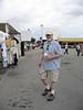 Mark at the Hollywood Flea Market