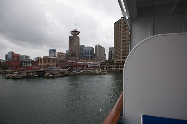 View of Downtown Vancouver.
