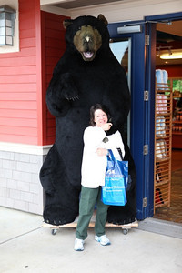Ketchikan. Checking out the shops and having fun