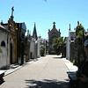 Buenos Aires, Argentina - a street inside the cemetery
