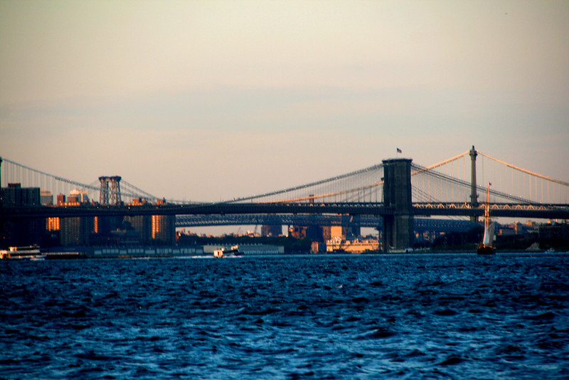 The bridges of the East River.