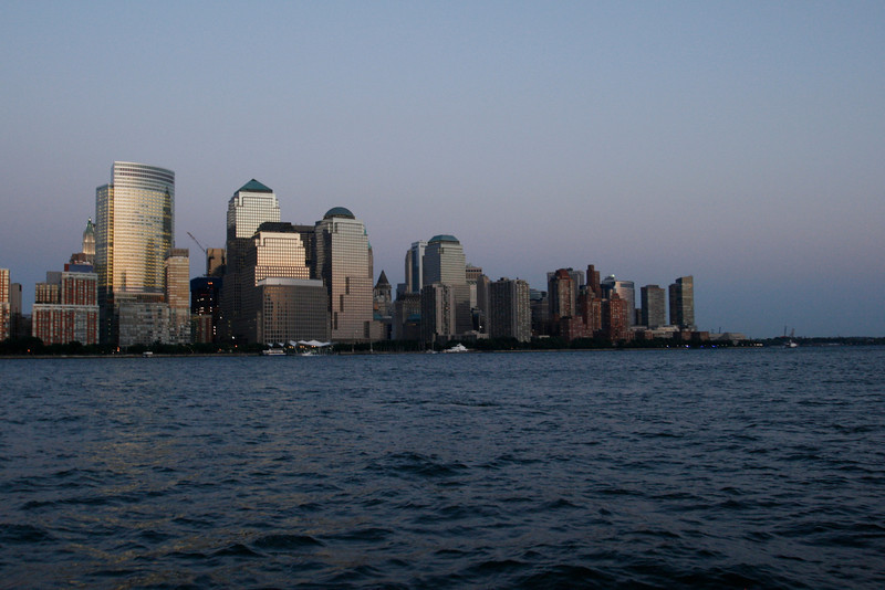 These next few shots are the southern tip of Manhattan, and the site of the World Trade Center before 9/11.