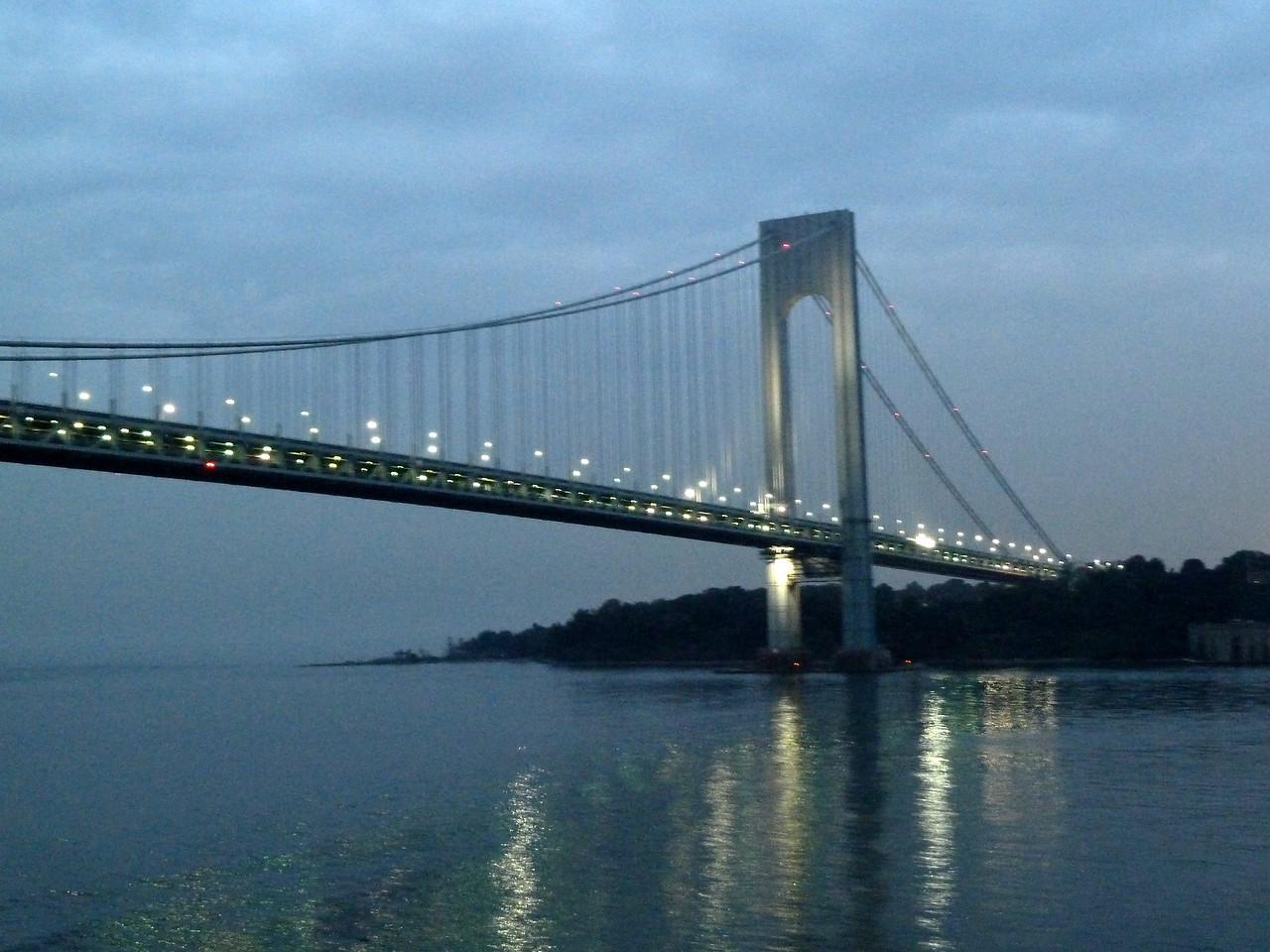 Verrazano-Narrows Bridge - New York Harbor