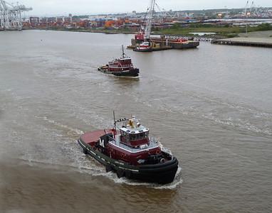 Tugboats NY Harbor