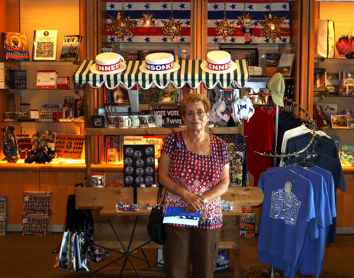 Marion at Gift Shop