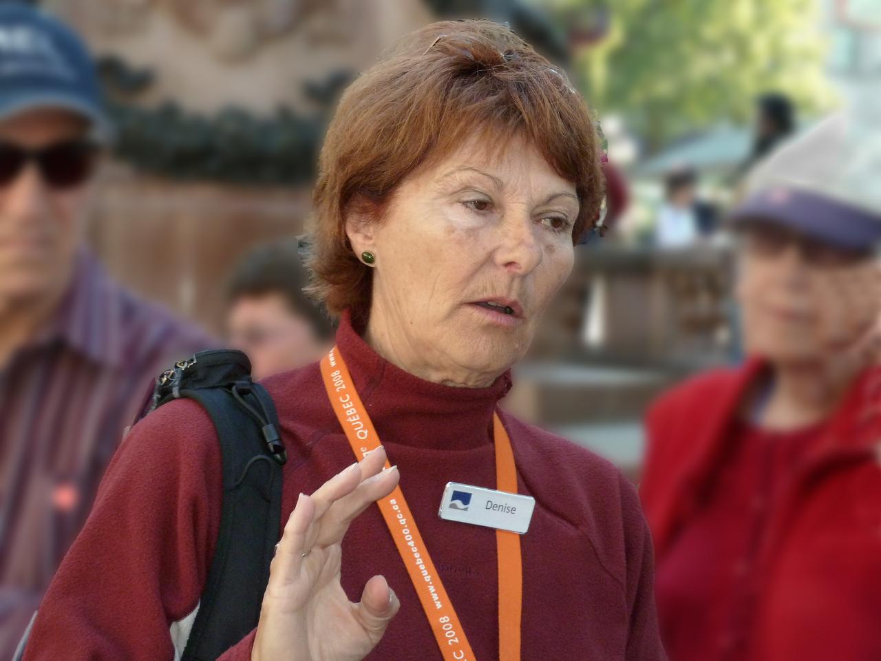 Walking Tour Guide - Denise