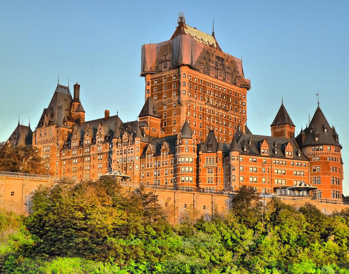 The Fairmont Chateau Frontenac Hotel - Quebec