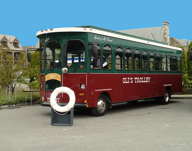 Trolley for Acadia National Park Tour