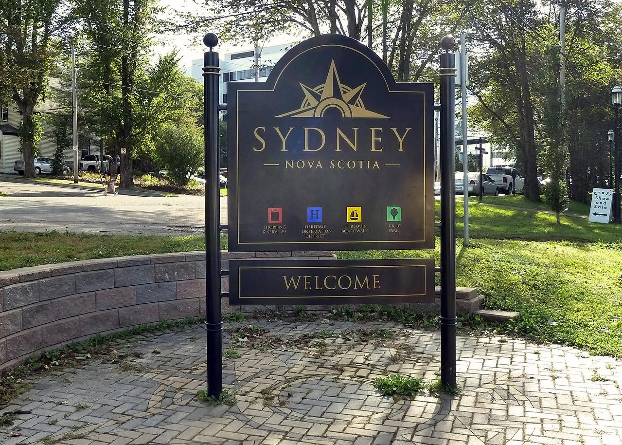 Welcome to Sydney, Cape Breton Island - Nova Scotia