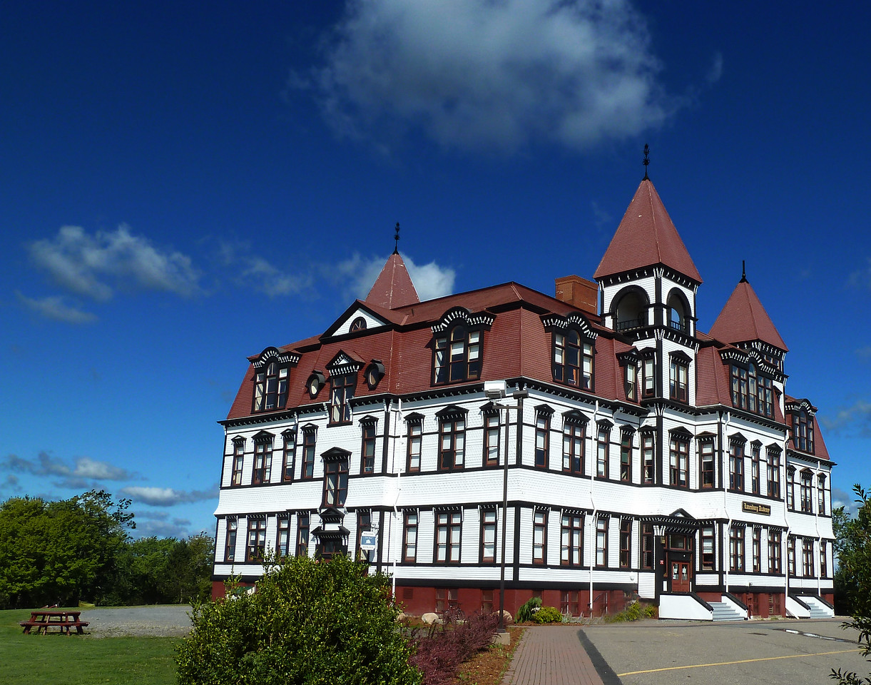 105 year old Lunenburg Academy