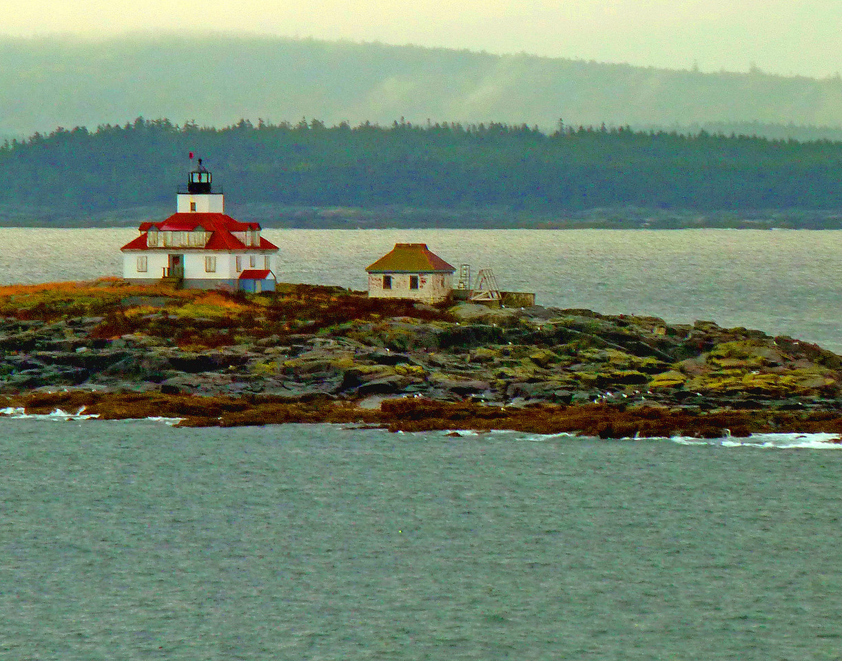 Entering Bar Harbor Maine